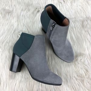 Vionic Gray Whitney Ankle Boot
